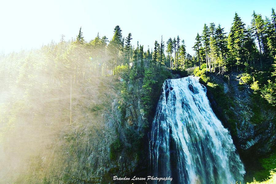 Mount Rainier National Park Photograph by Brandon Larson