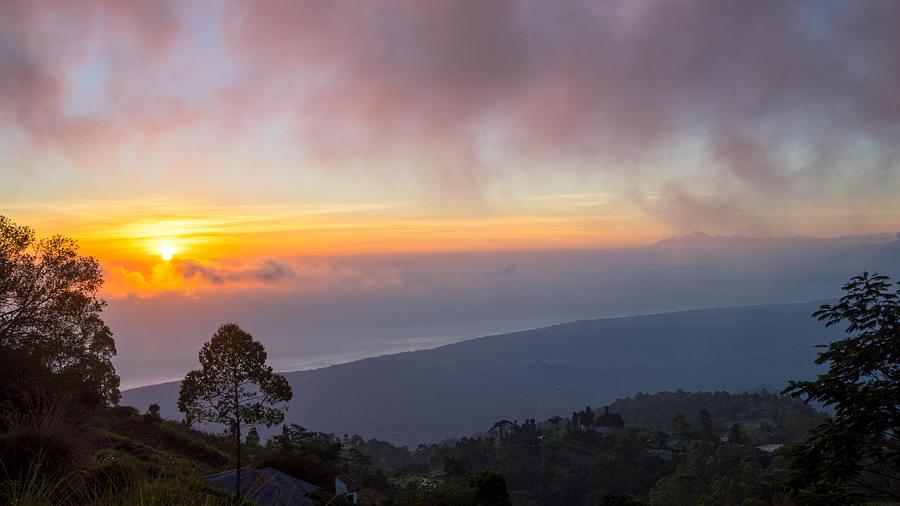 Mountain Photograph - Mount Rinjani by Shaiful Zamri Masri