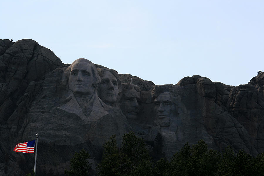 National Park Photograph - Mount Rushmore by George Jones