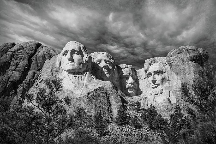 Mt. Rushmore Photograph - Mount Rushmore II by Tom Mc Nemar