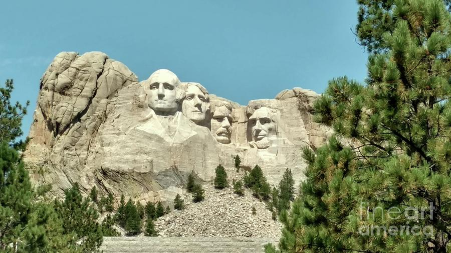 Mount Rushmore Photograph - Mount Rushmore by Kevin Croitz