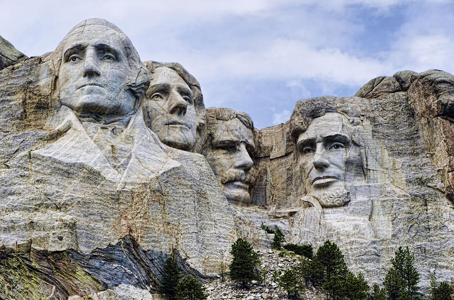 Mount Rushmore Photograph - Mount Rushmore National Monument by Jon Berghoff