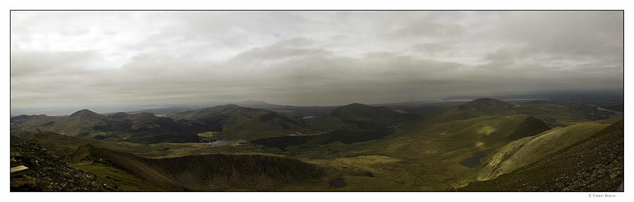 Mount Snowdon Panorama Photograph by R Thomas Berner