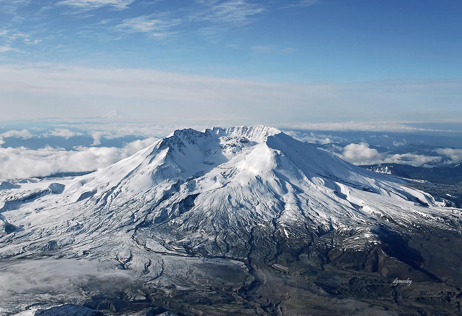 Stratovolcano Photograph - Mount St. Helens 0005 by David Mosby