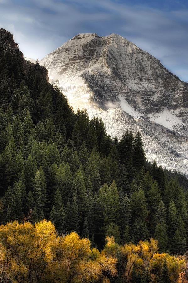 Mount Timpanogos 1 Photograph by Douglas Pulsipher