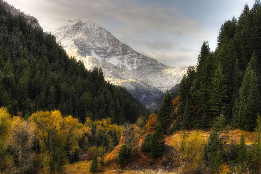Mount Timpanogos 2 Photograph by Douglas Pulsipher