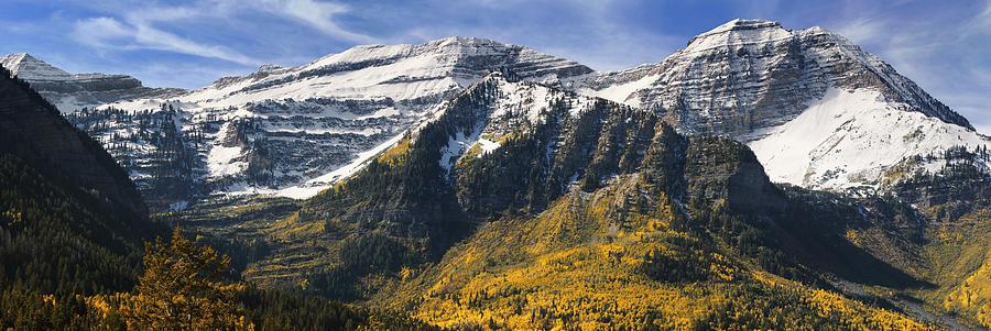 Mount Timpanogos Photograph - Mount Timpanogos by Utah Images