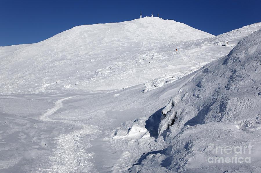 White Mountains Photograph - Mount Washington - White Mountain New Hampshire Usa Winter by Erin Paul Donovan