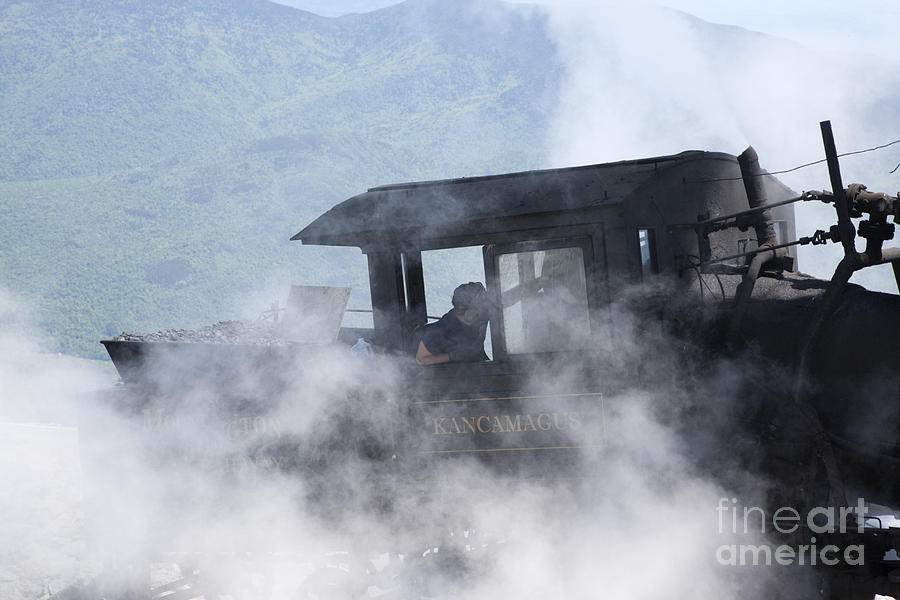 Hike Photograph - Mount Washington Cog Railroad - New Hampshire Usa by Erin Paul Donovan
