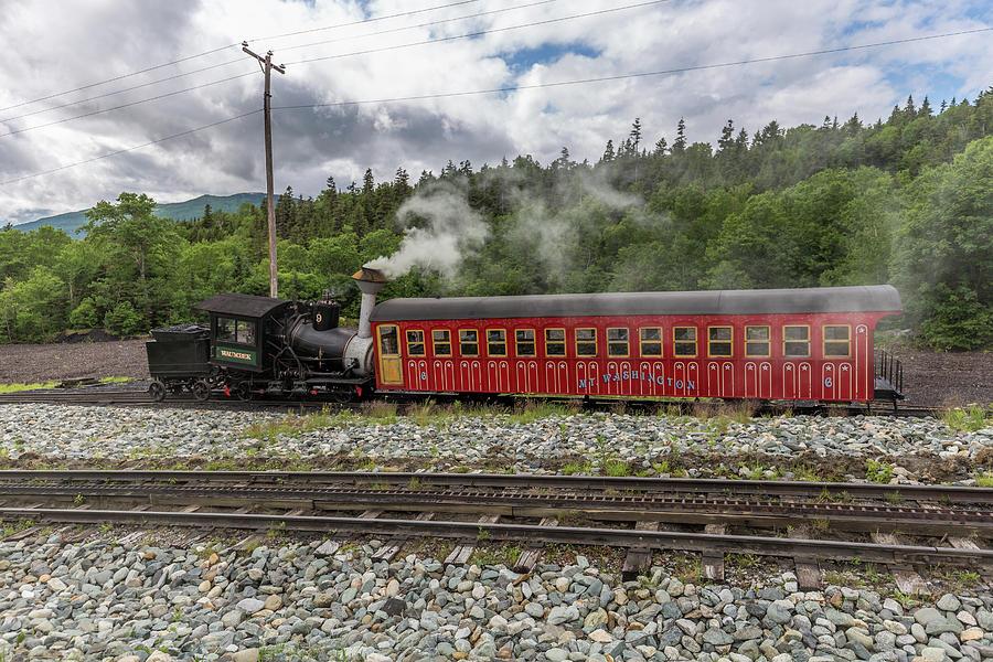 Mount Washington Cog Railway Locomotive Waumbek 2 by Brian MacLean