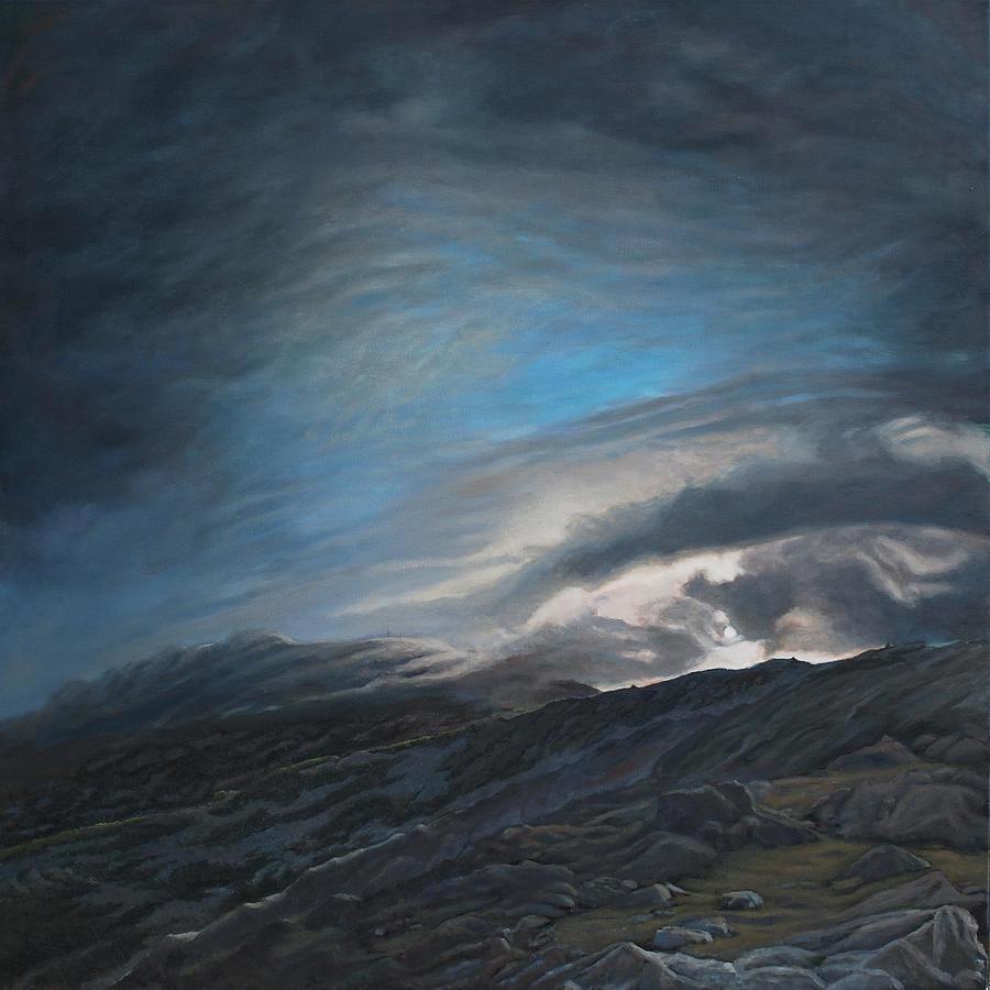 Mount Washington Painting - Mount Washington Sunrise by Suzanne Shelden