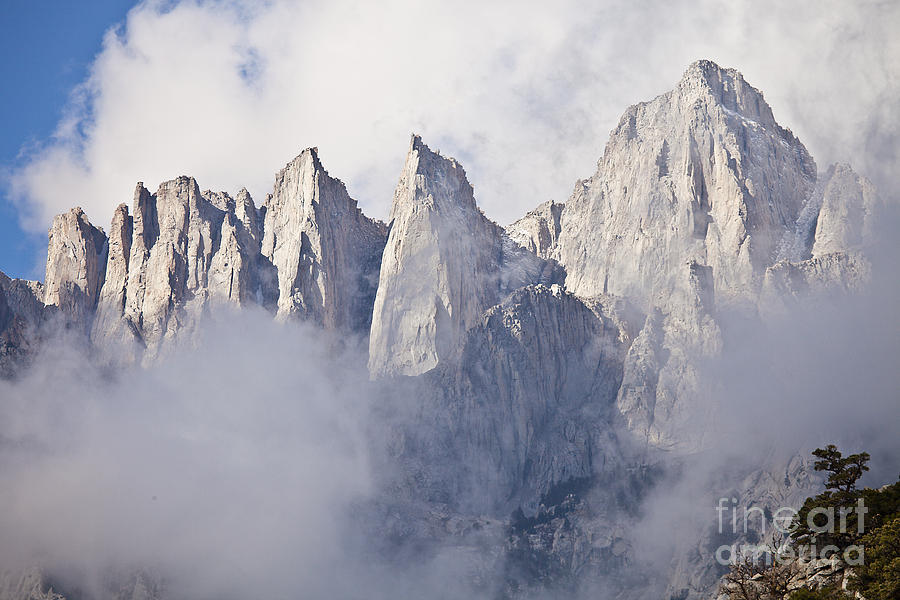 California Photograph - Mount Whitney by Greg Clure