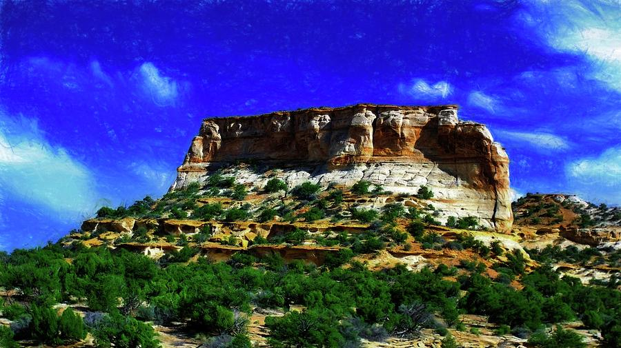 Mountain 9 By Kristalin Davis Photograph