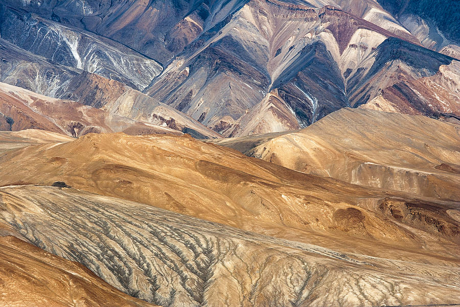 Mountain Photograph - Mountain Abstract 4 by Hitendra SINKAR