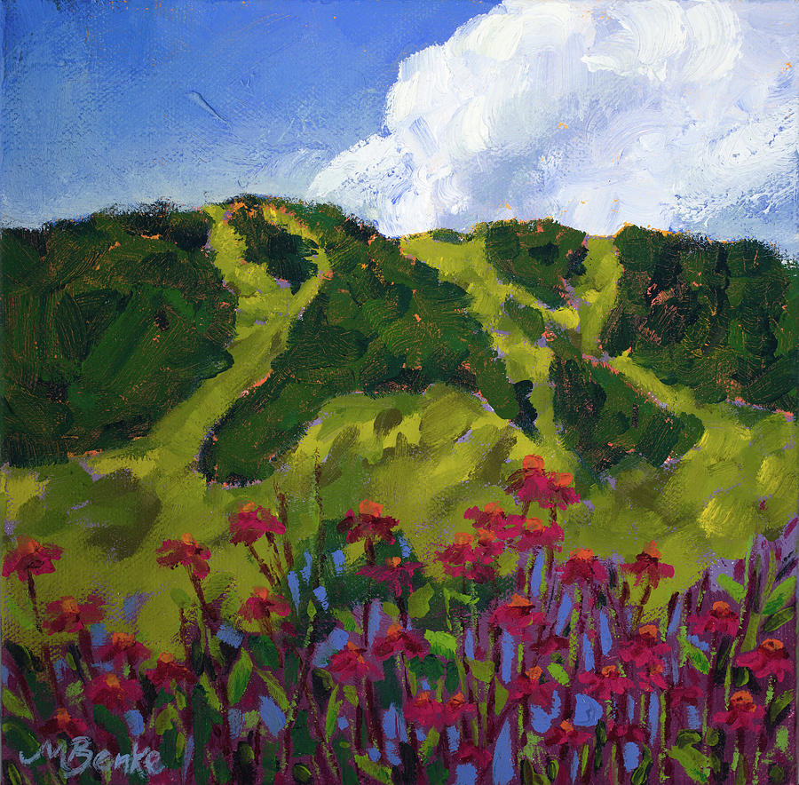 Mountain Blooms by Mary Benke