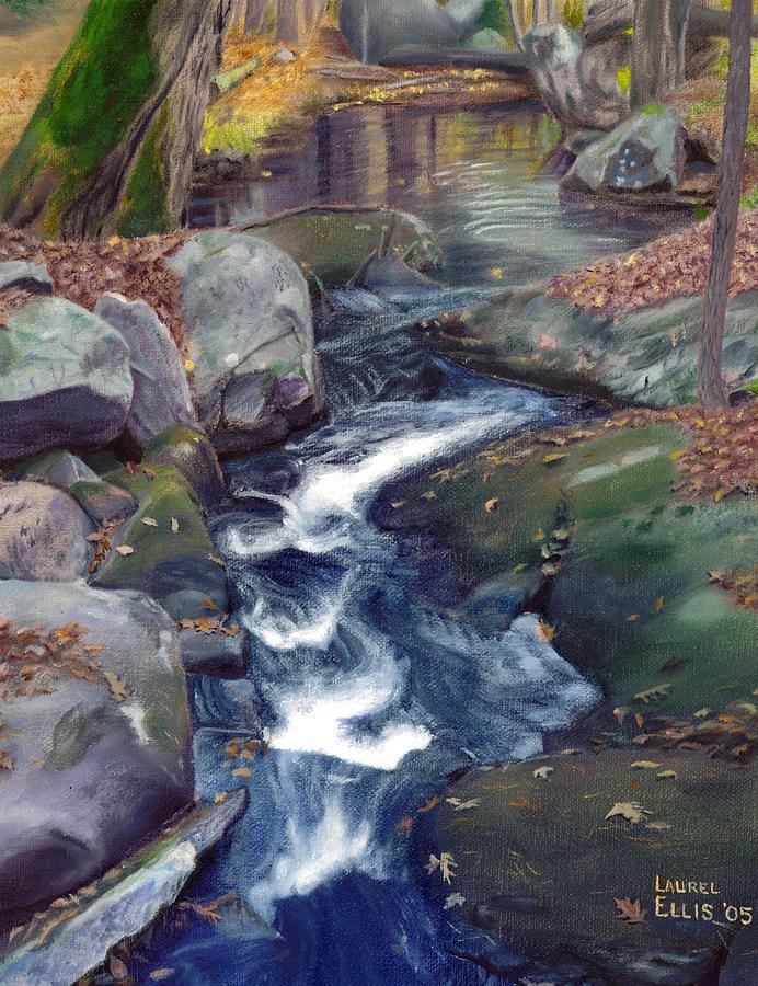 Landscape Painting - Mountain Brook Iv by Laurel Ellis