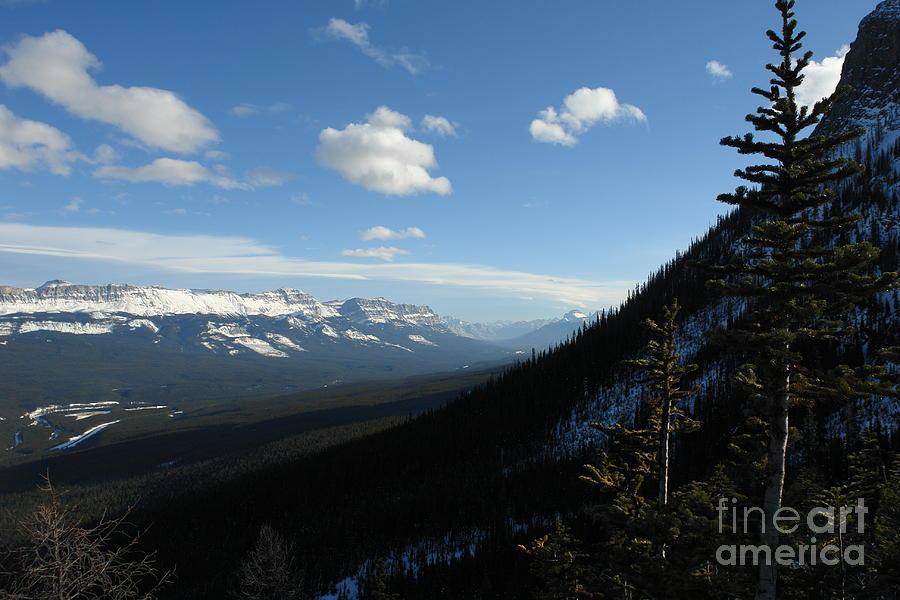 Up Photograph - Mountain Corridor by Greg Hammond