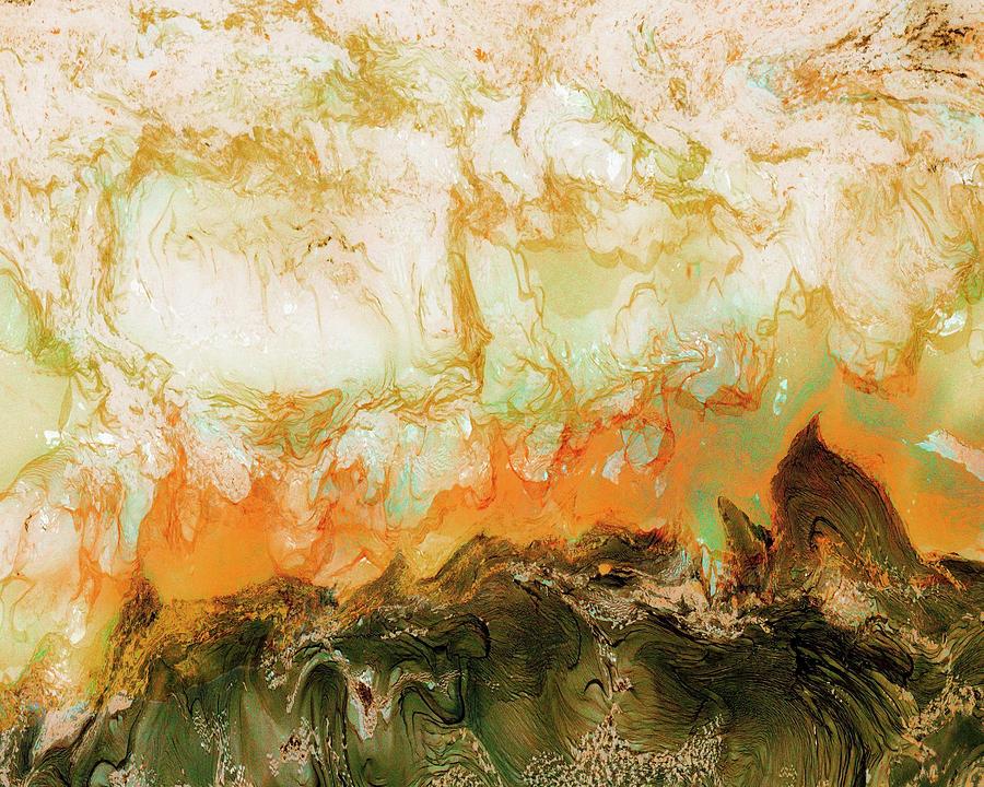Tokarski Photograph - Mountain Flames II by Paul Tokarski
