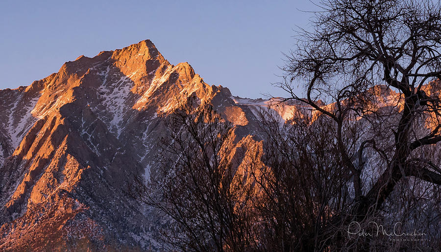 Death Valley Photograph - Mountain High by Peter McCracken