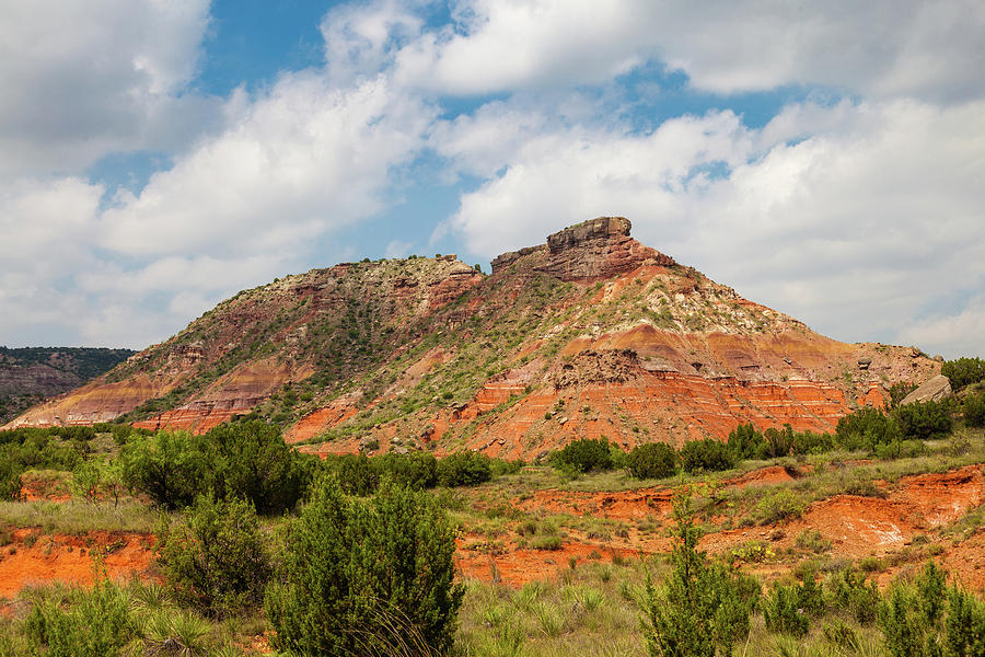 Mountain in Palo Duro Canyons by Judy Wright Lott