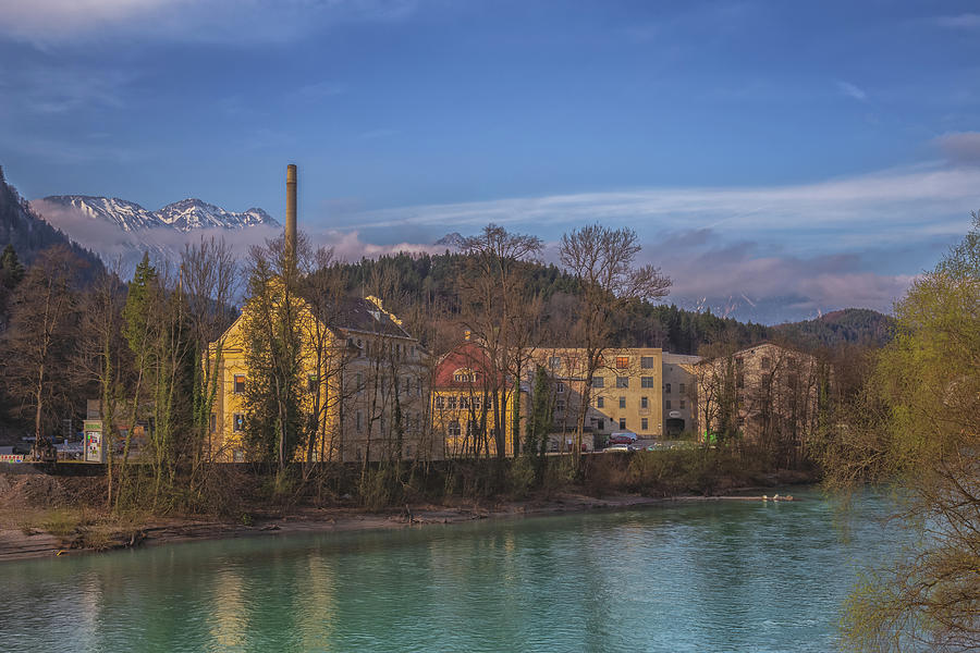 Bavaria Photograph - Mountain Industry by Chris Fletcher