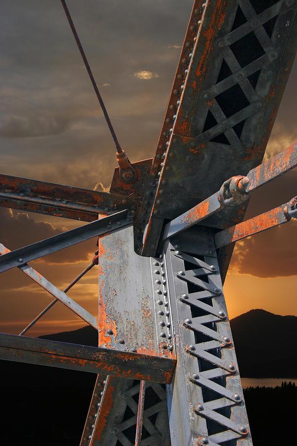 Bridge Photograph - Mountain Iron by Melvin Kearney