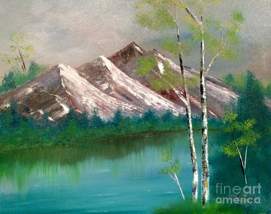 Mountain Lake by DENISE TOMASURA