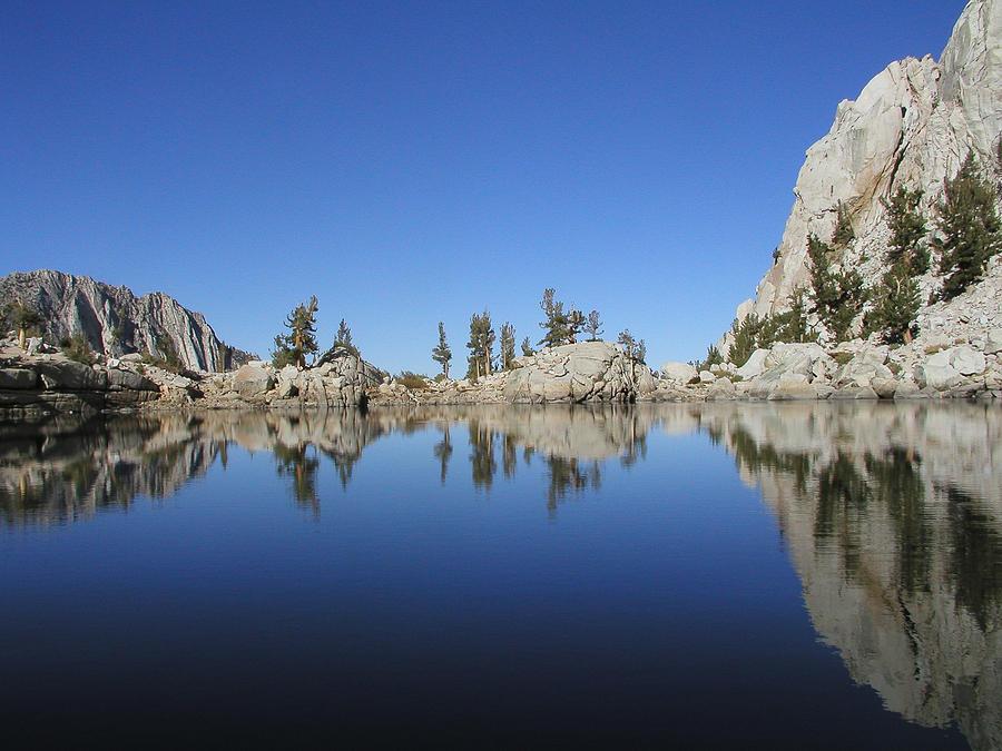 Lake Photograph - Mountain Lake by Myra Wilson