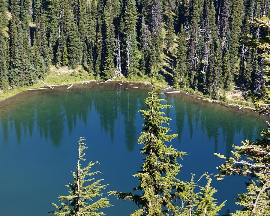 Mountain Photograph - Mountain Lake by Sonja Anderson