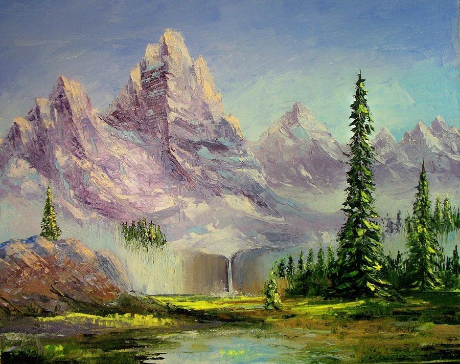 Mountain Majesty Painting by Lynda McDonald