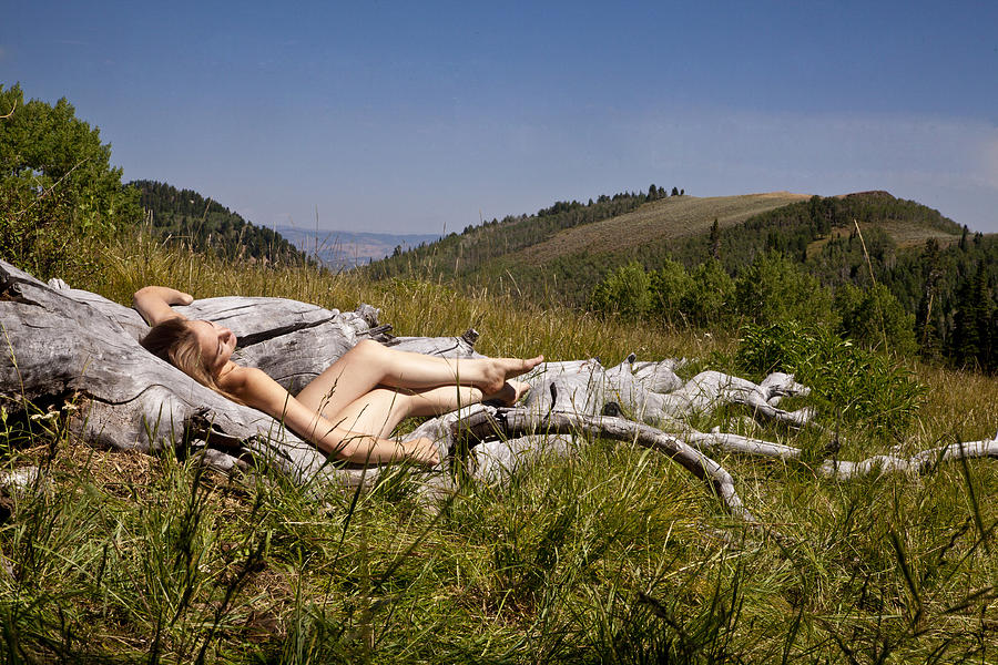 Nude Photograph - Mountain Meadow I by David Schroeder