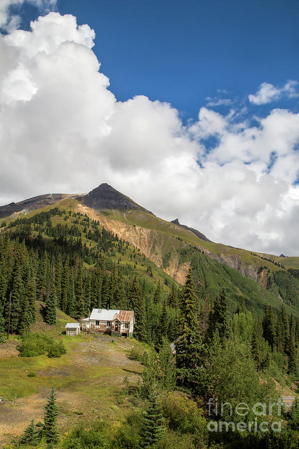 Silverton Photograph - Mountain Mining Home by Twenty Two North Photography