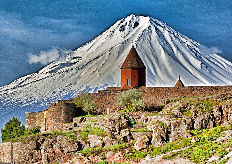 Armenia Photograph - Mountain Monastery by Dennis Cox WorldViews