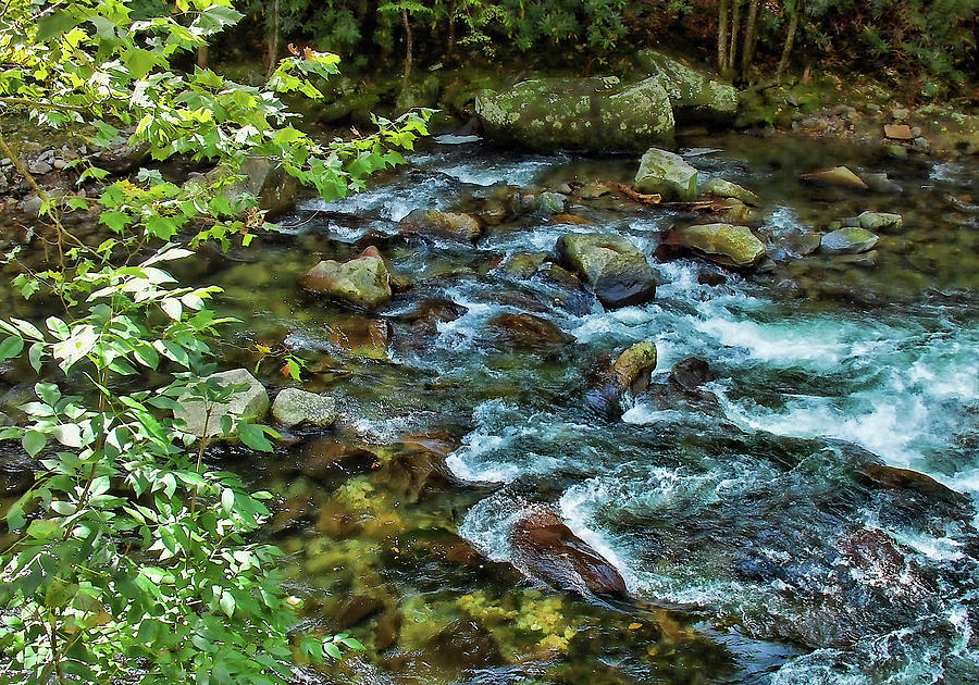 Mountain River Photograph - Mountain Music by HH Photography of Florida