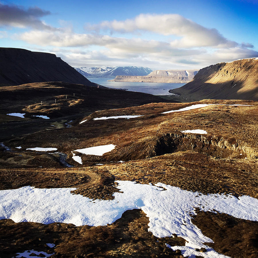 Iceland Photograph - Mountain pass in Iceland by Matthias Hauser
