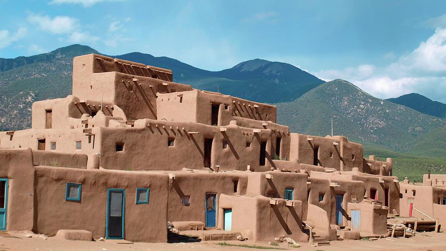 New Mexico Photograph - Mountain Pueblo by Lea Rhea Photography