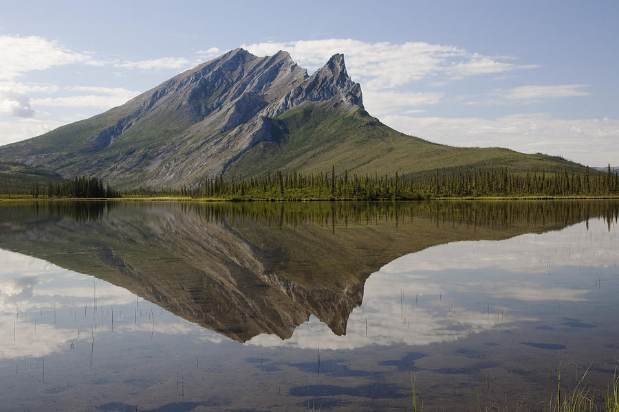 Mountain Photograph - Mountain Reflection by Tim Grams