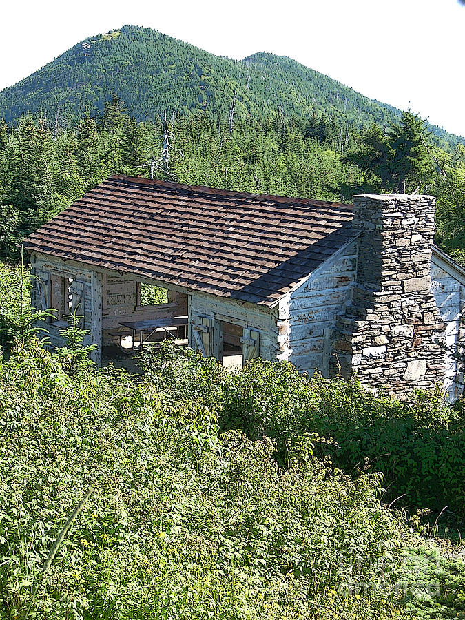 Shelter Photograph - Mountain Shelter by Beebe Barksdale-Bruner