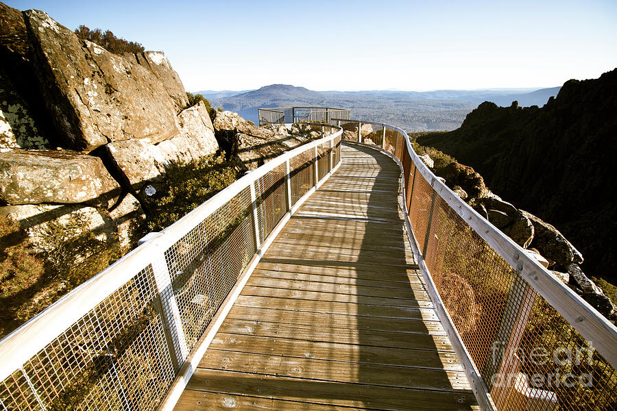 Architecture Photograph - Mountain Summit Lookout by Jorgo Photography - Wall Art Gallery