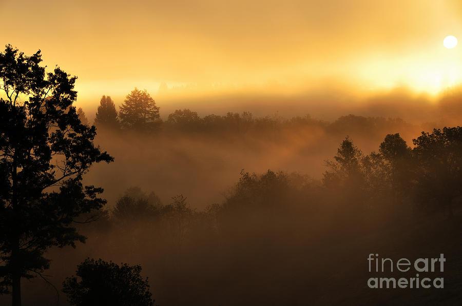 Sunrise Photograph - Mountain Sunrise by Thomas R Fletcher