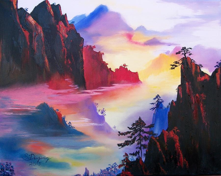 Mountain Top Sunrise by Sharon Duguay