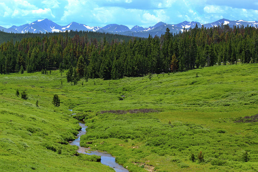 Mountain Valley Photograph by Shane Bechler
