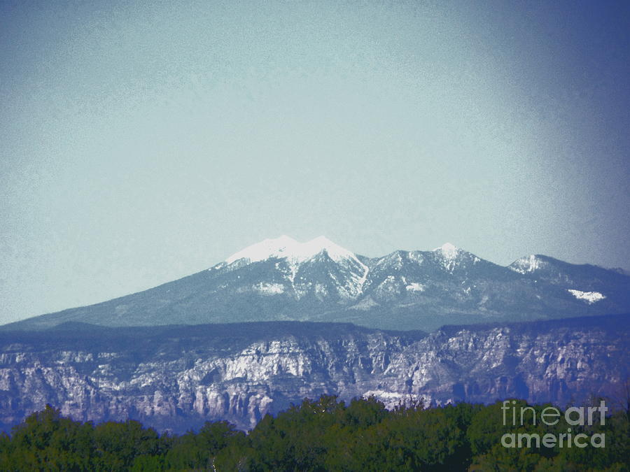 Mountain Photograph - Mountain View by Debbie Wells