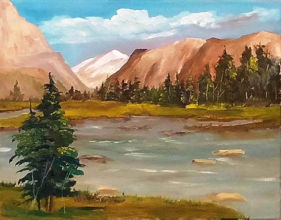 Mountain View by Larry Hamilton