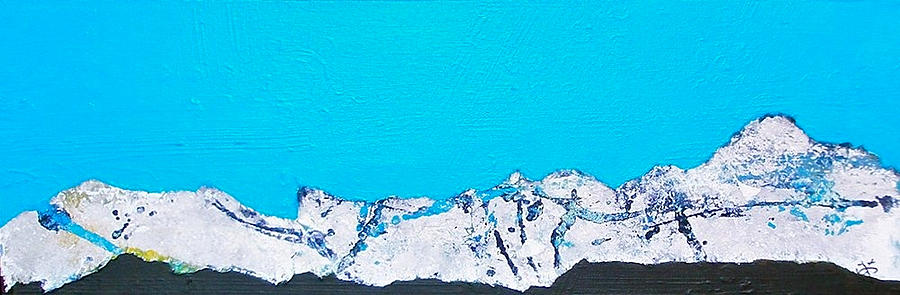 Nature Painting - Mountain  by Wonju Hulse