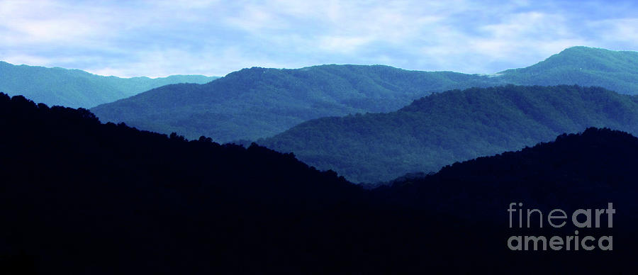 Mountain Photograph - Mountains #27 by EGiclee Digital Prints