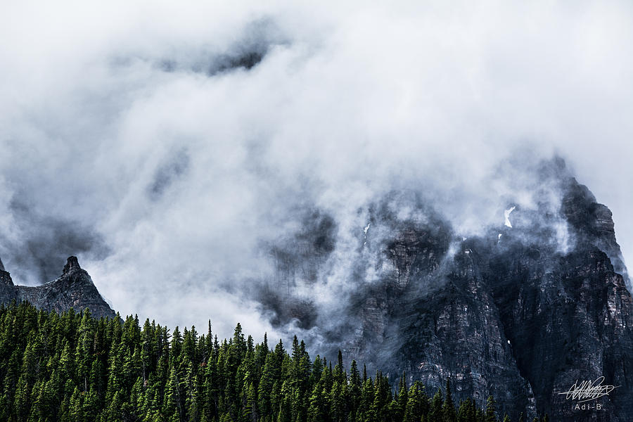 Nature Photograph - Mountains by Adnan Bhatti