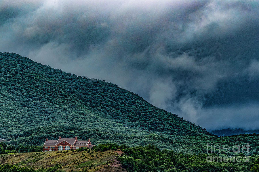 Mountains Photograph - Mountains And Clouds 1350t by Doug Berry