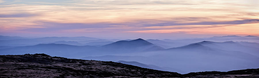 Mountains Photograph - Mountains And Mist by Marion McCristall
