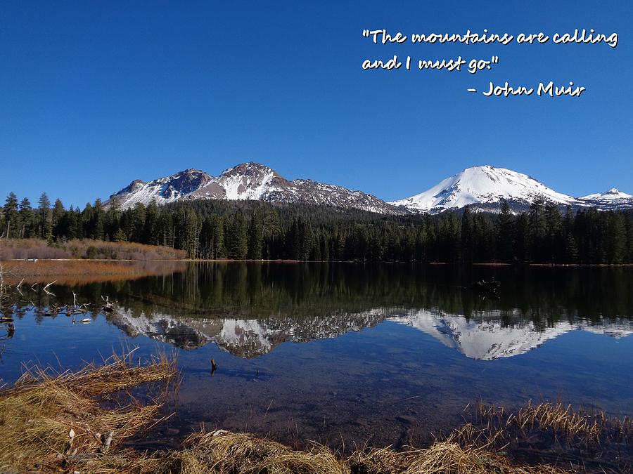 Mt. Lassen Photograph - Mountains Are Calling by Kristina Lammers